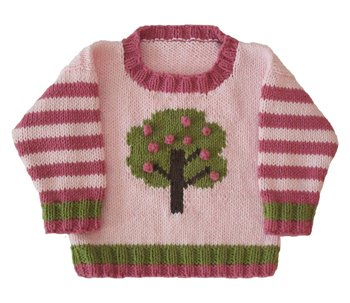 Apple Tree Crew Neck